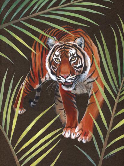Bengal Tiger (<em>Panthera tigris tigris</em>), acrylic, 18