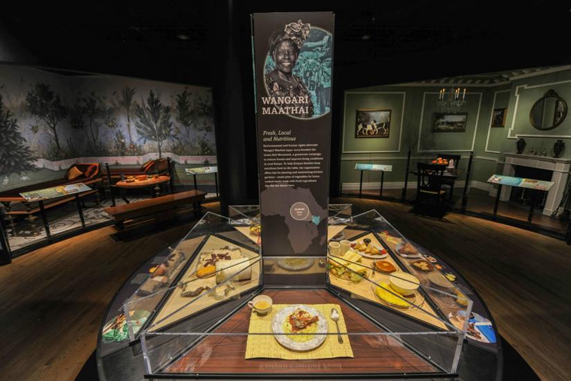 Iconic Meals room, <em>Our Global Kitchen</em> © AMNH