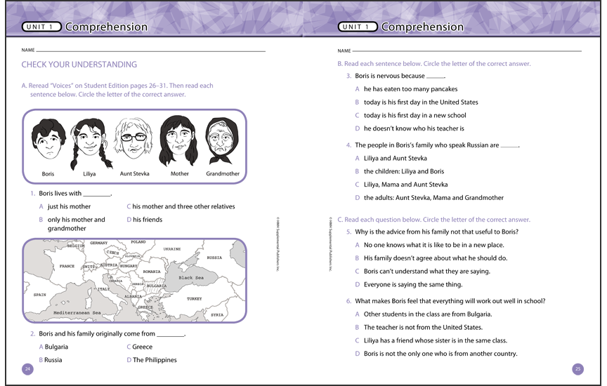 <i>Voices</i> workbook, digital