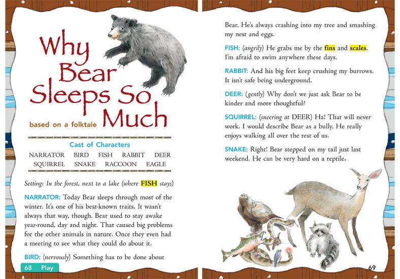 <i>Why Bear Sleeps So Much</i>, graphite and digital